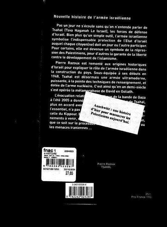 Autocollants aux relents antisémites sur des livres à La FNAC à Bruxelles