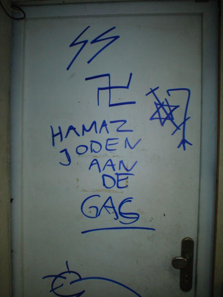 Graffitis antisémites découverts à Anvers