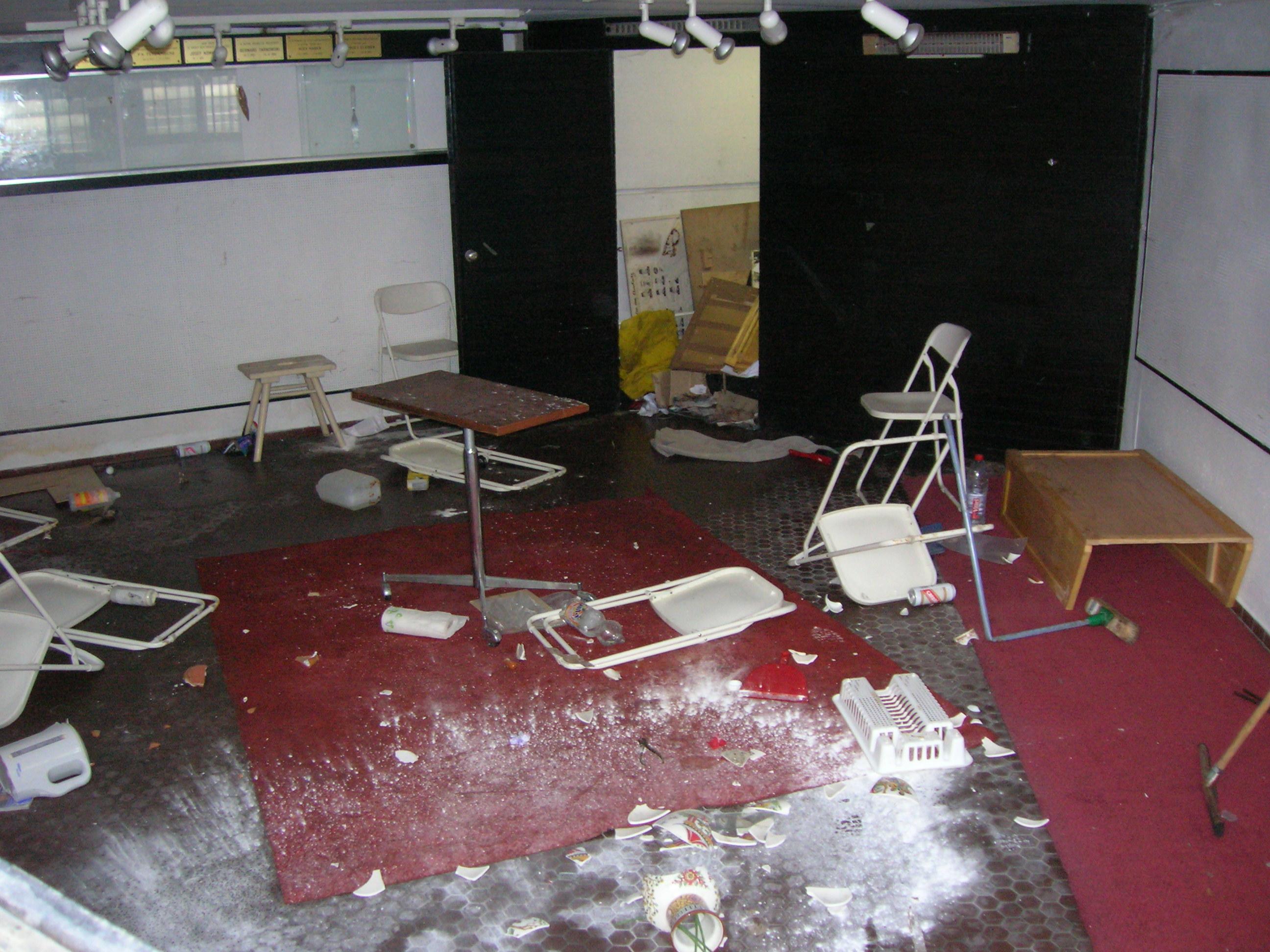 La crypte du Mémorial aux Martyrs juifs de Belgique à Anderlecht saccagée