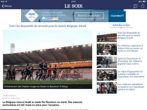 20151012 - Le Soir - Belgique-Israel 1