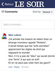 161223 - Le Soir - Max Lebon 2